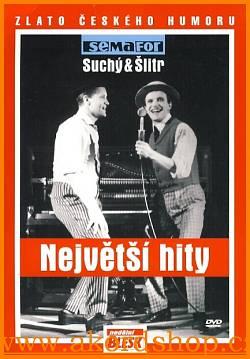 Jiří Suchý & Jiří Šlitr - Největší hity DVD (pošetka)