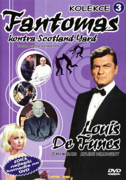 Fantomas kontra Scotland Yard DVD
