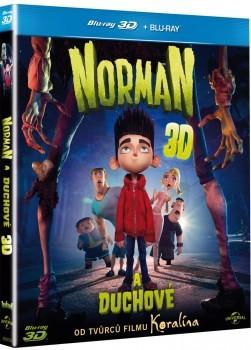 Norman a duchové Blu-Ray (3D+2D)