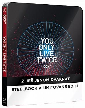 Žiješ jenom dvakrát - Steelbook
