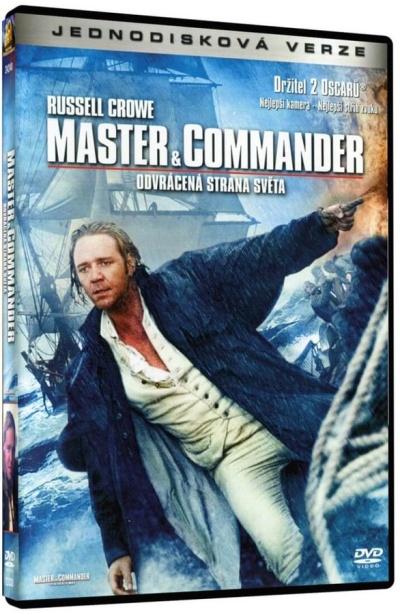 Master & Commander- Odvrácená strana světa DVD