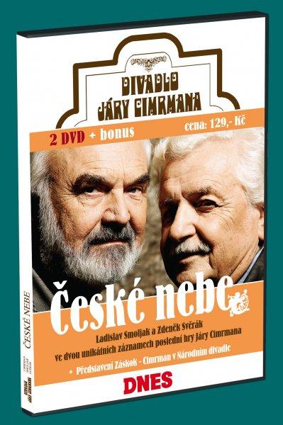 Divadlo Járy Cimrmana - České nebe 2DVD