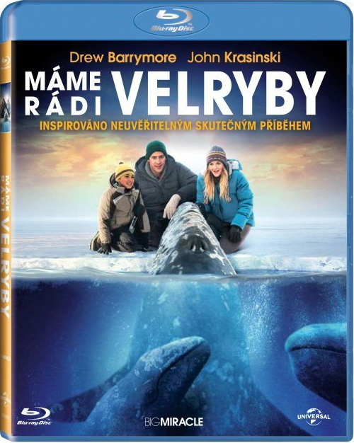 Máme rádi velryby Blu-Ray