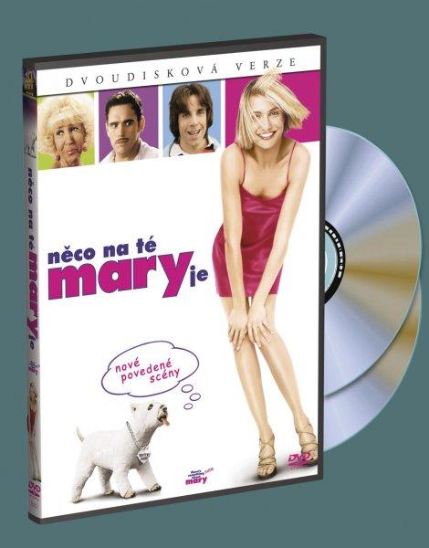 Něco na té Mary je  DVD