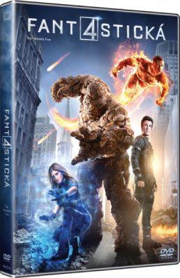 Fantastická čtyřka (2015) DVD