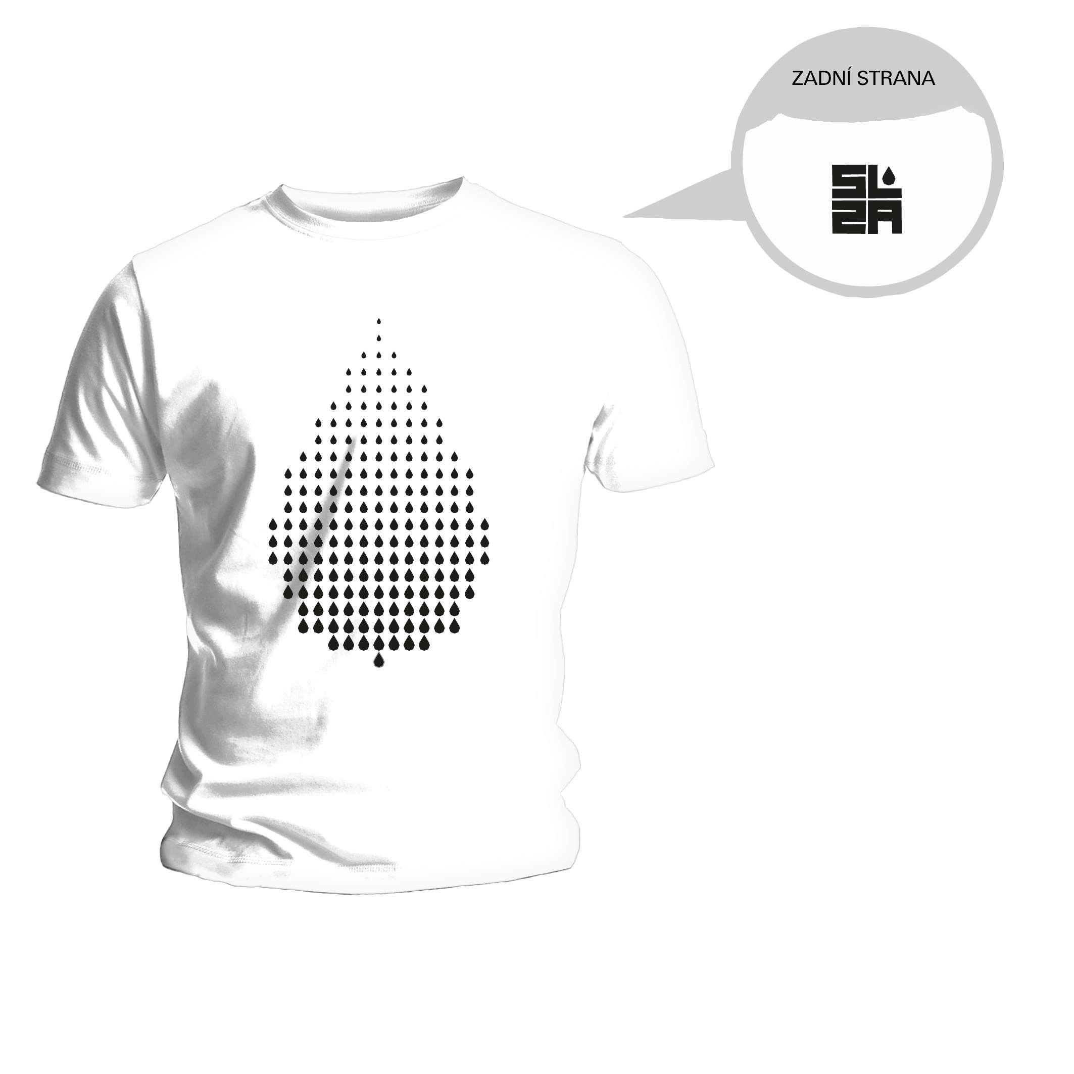 SLZA - Tričko s logem kapka