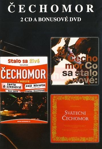 Čechomor - Sváteční/Co sa stalo nové/Stalo sa živě 2CD/DVD