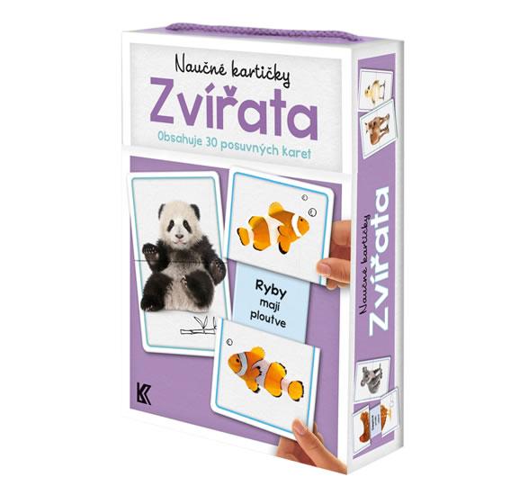 Naučné kartičky - Zvířata