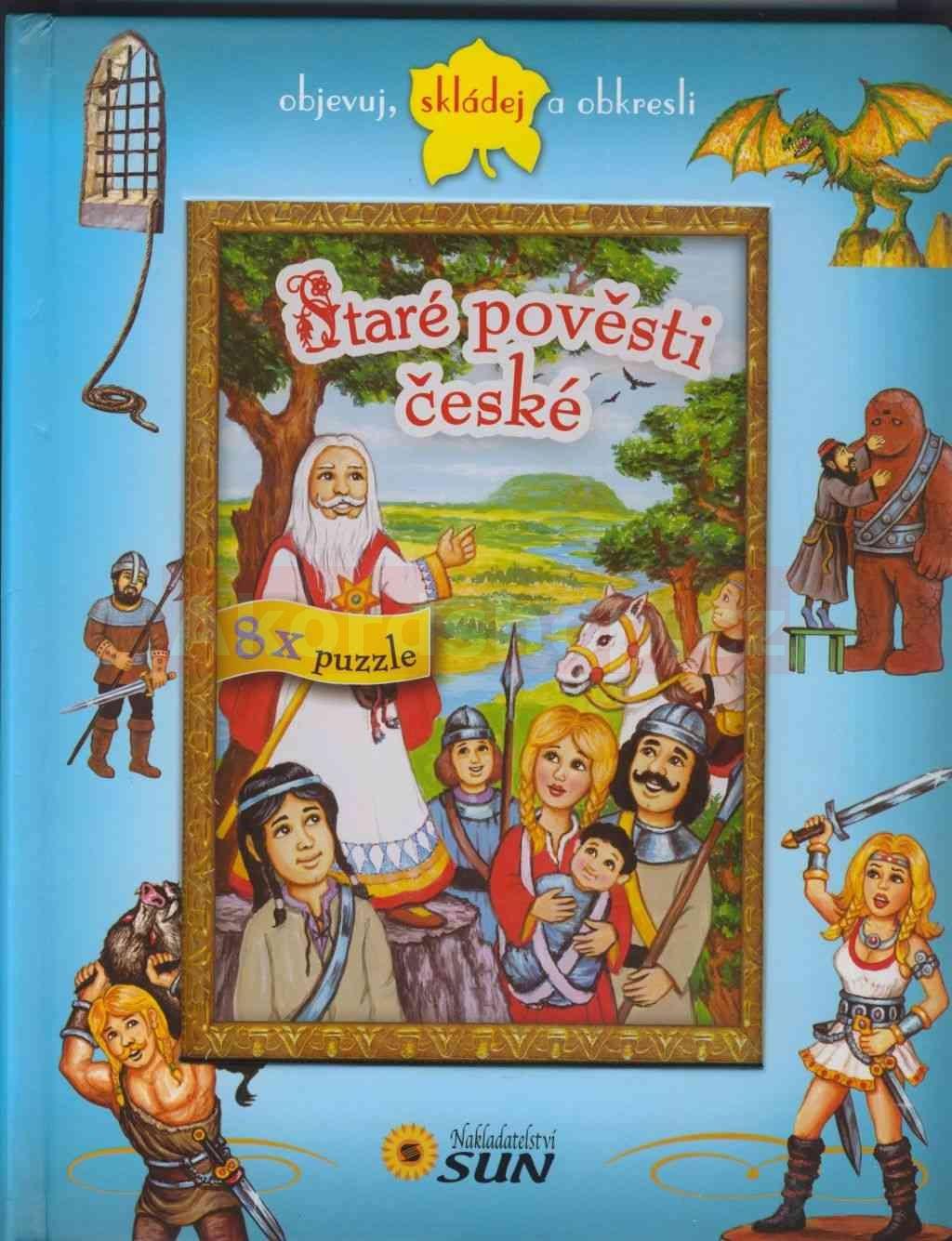 Staré pověsti české 8x puzzle