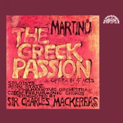 Martinů: Řecké pašije / Greek Passion 2CD