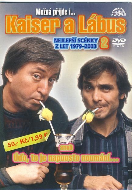 Kaiser a Lábus - Možná příjde i kouzelník 2 DVD