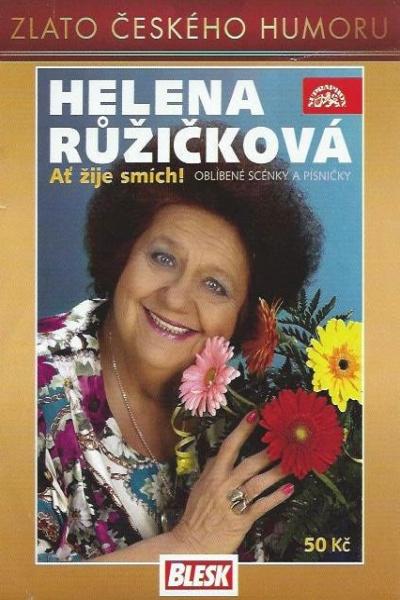 Helena Růžičková - Ať žije smích DVD (pošetka)