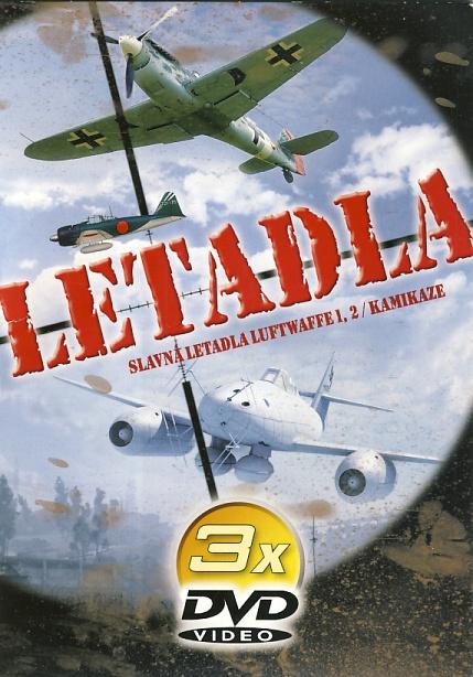 Slavná letadla 3DVD