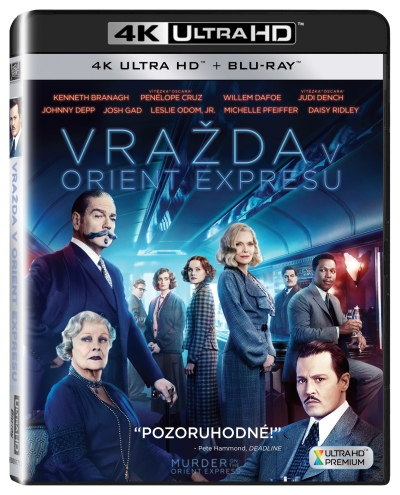 Vražda v Orient expresu 2UHD/Blu-Ray