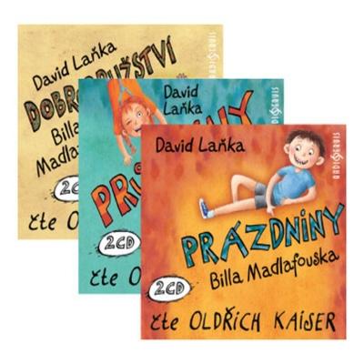 3x Bill Madlafousek (David Laňka) 6CD