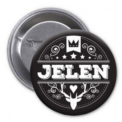 Jelen - Placka/Logo 2018
