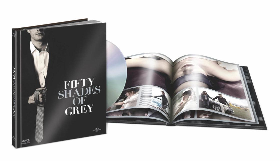Padesát odstínů šedi Blu-Ray