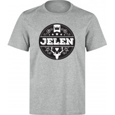 Jelen - Tričko unisex šedé (M)