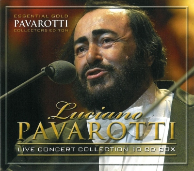 Luciano Pavarotti - Essential Gold (Live) 10CD