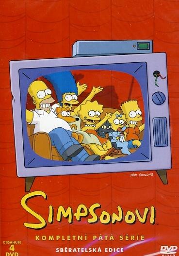 Simpsonovi 5. série 4DVD