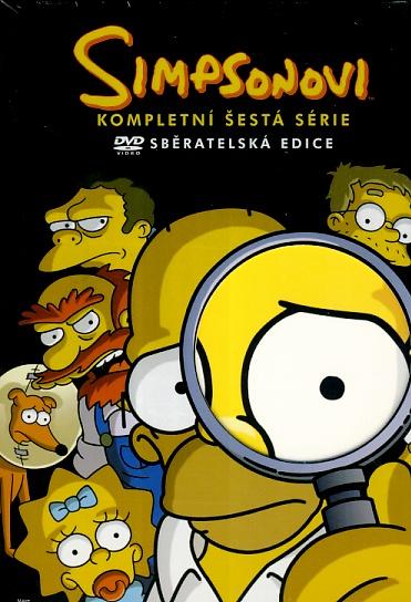 Simpsonovi 6. série 4DVD