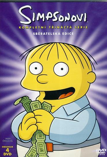 Simpsonovi 13. série 4DVD
