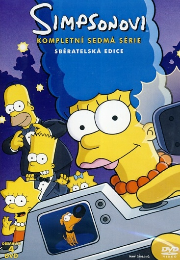 Simpsonovi 7. série 4DVD