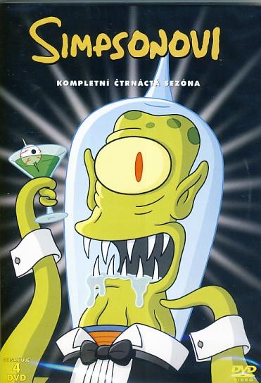Simpsonovi 14. série 4DVD