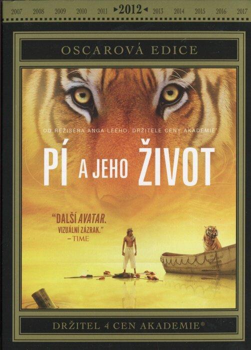 Pí a jeho život DVD (Oscar edice)