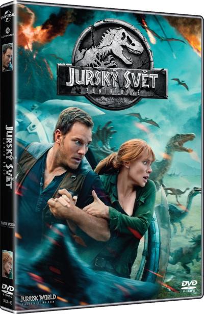 Jurský svět - Zánik říše DVD