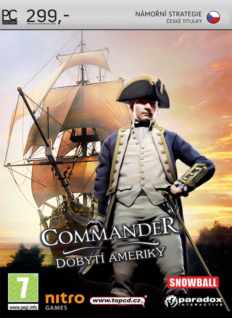 Commander: Dobytí Ameriky PC