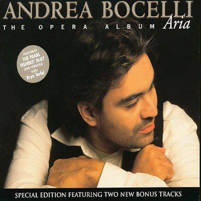 Andrea Bocelli - Aria CD
