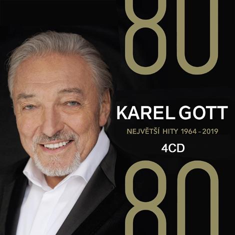 Karel Gott - 80/80 Největší hity (1964-2019) 4CD