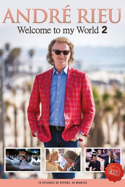 André Rieu - Welcome to my World 2 3DVD (André Rieu je)