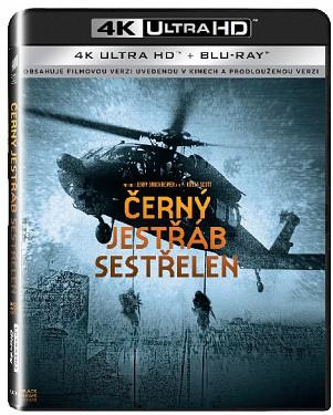 Černý jestřáb sestřelen UHD/Blu-Ray