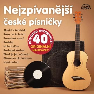 Nejzpívanější české písničky 2CD