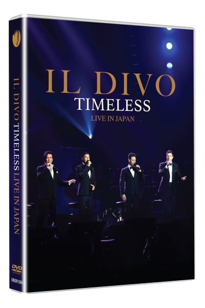 Il Divo - Timeless Live in Japan Blu-Ray