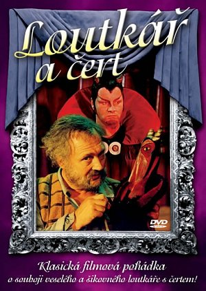 Loutkář a čert DVD