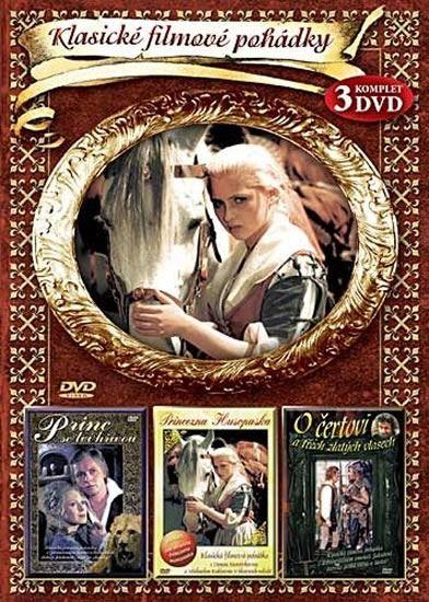 Klasické filmové pohádky I. 3DVD