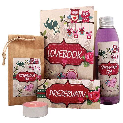 Lovebook kniha pro zamilované - Kosmetika