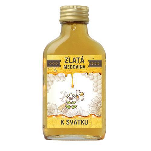 Zlatá medovina 100 ml - K svátku