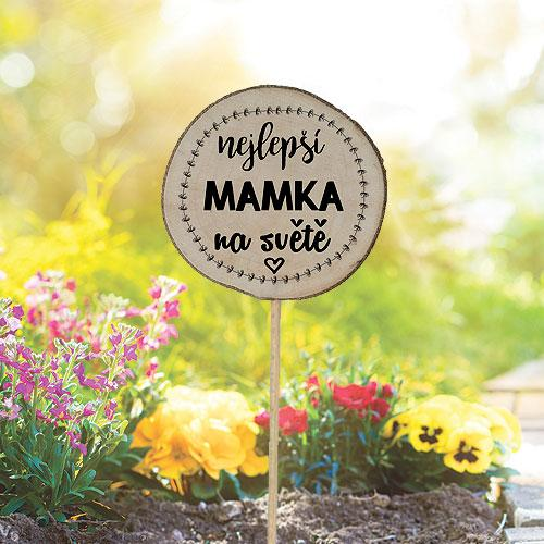 Zapichovátko do květináče - Pro maminku