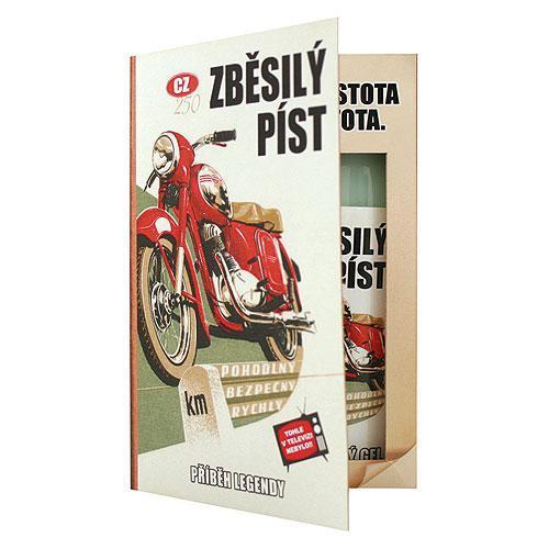 Dárková kosmetická sada – Kniha pro motorkáře