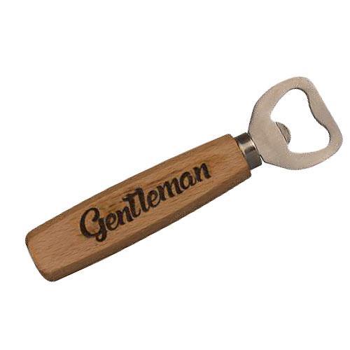 Dřevěný otvírák - Gentleman