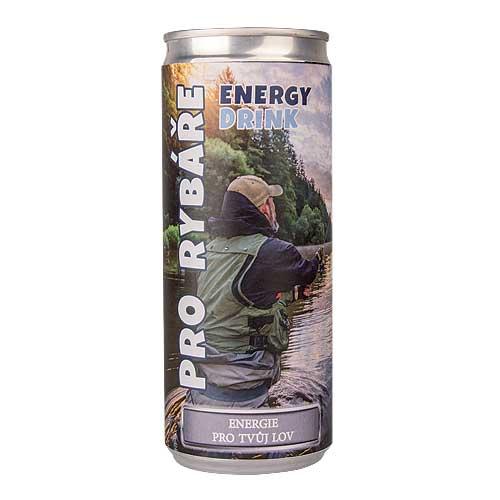 Energetický nápoj 250 ml - Pro rybáře