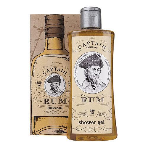 Dárkový sprchový gel 250 ml v krabičce - Rum