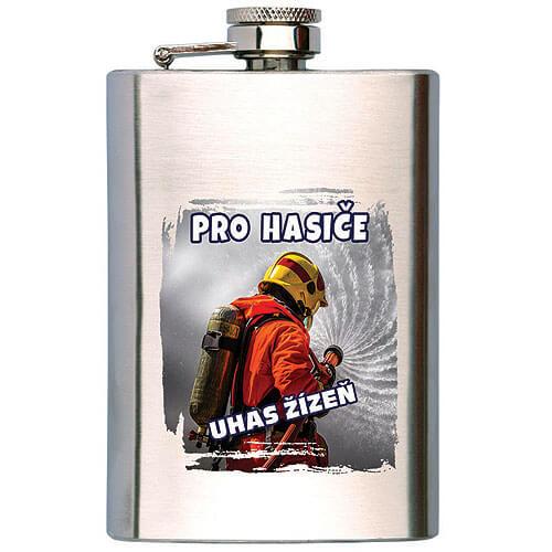 Placatka na alkohol 200 ml - Pro hasiče