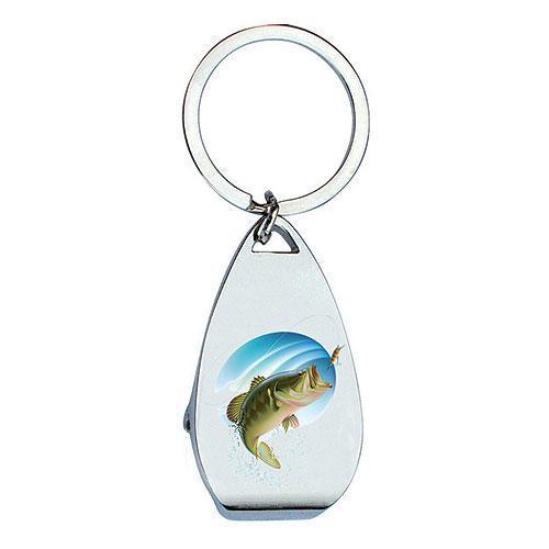 Klíčenka s otvírákem pro rybáře - Ryba