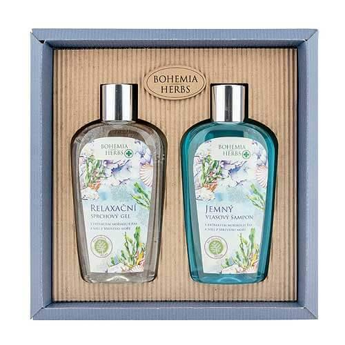 Kosmetický balíček Mrtvé moře - Gel a šampon