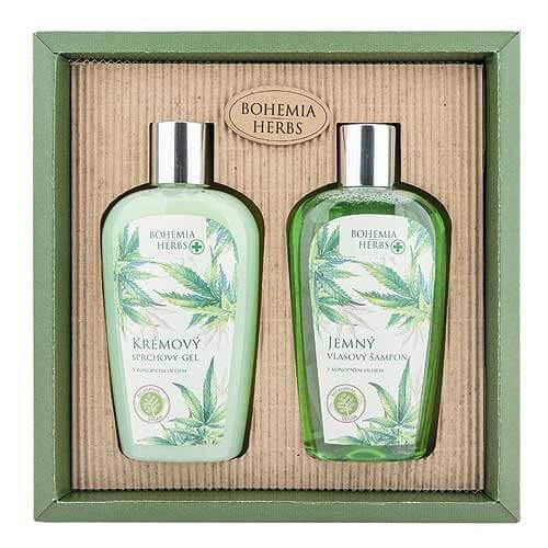 Kosmetická sada konopné kosmetiky - Gel a šampon